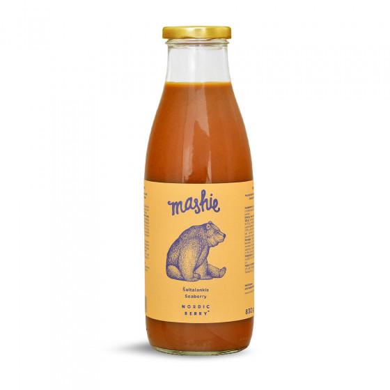 """Sanddorn-Beerenpueree """"Mashie by Nordic Berry"""", 750 ml"""