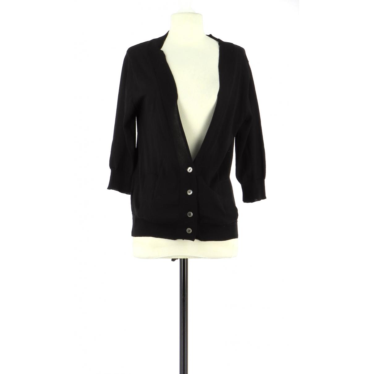 Comptoir Des Cotonniers \N Black Wool Knitwear for Women 36 FR