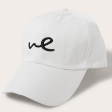 Men Letter Embroidered Baseball Cap