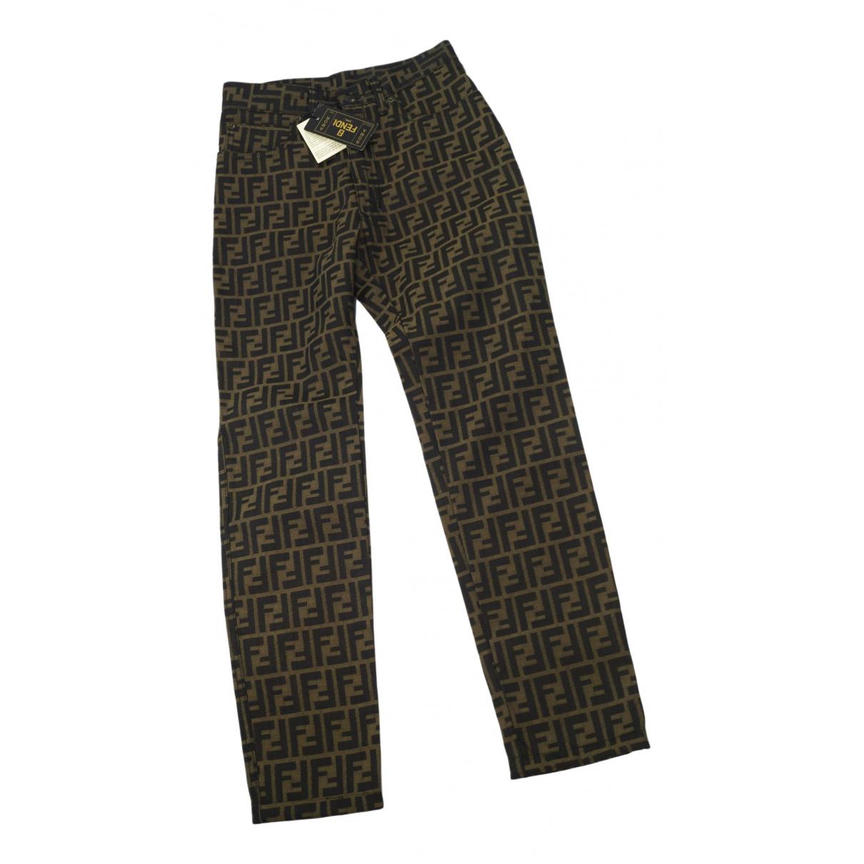 Pantalon de traje Fendi