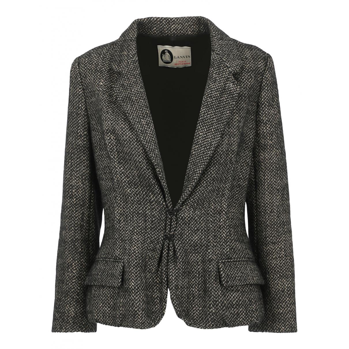 Lanvin N Beige Wool jacket for Women 42 FR