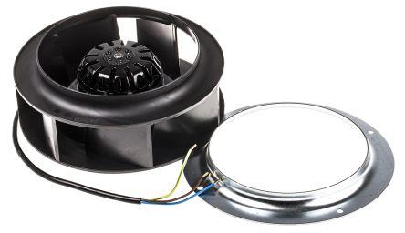 ebm-papst Centrifugal Fan, 445m³/h, 230 V ac AC (R2S175 Series)