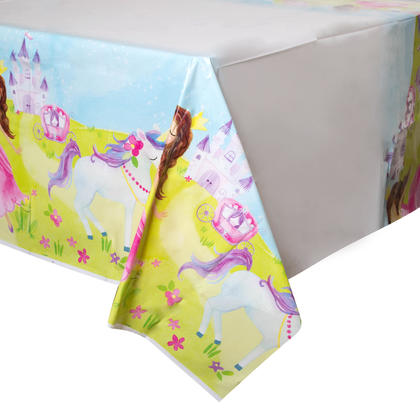 Magical Princess Rectangular Plastic Table Cover, 54