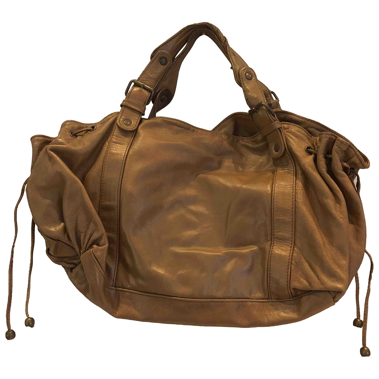 Gerard Darel 24h Handtasche in  Beige Leder