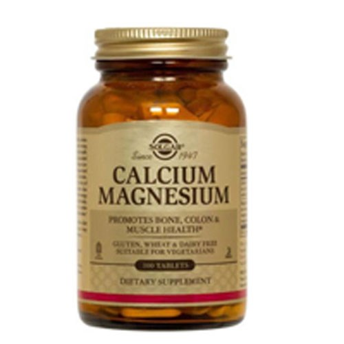 Calcium Magnesium Tablets 100 Tabs by Solgar