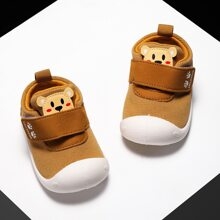 Baby Boy Cartoon Graphic Velcro Strap Sneakers