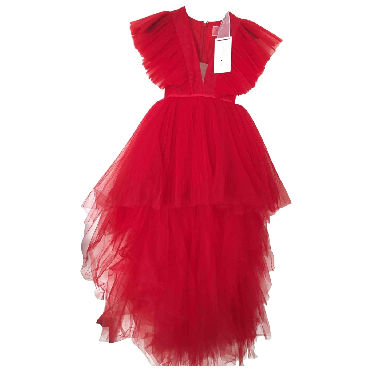 Giambattista Valli X H&m \N Red dress for Women 34 FR