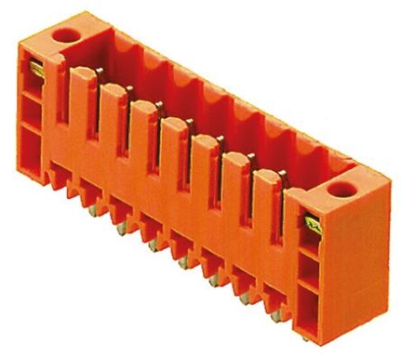 Weidmüller , OMNIMATE SL, 16 Way, 1 Row, Straight PCB Header (5)