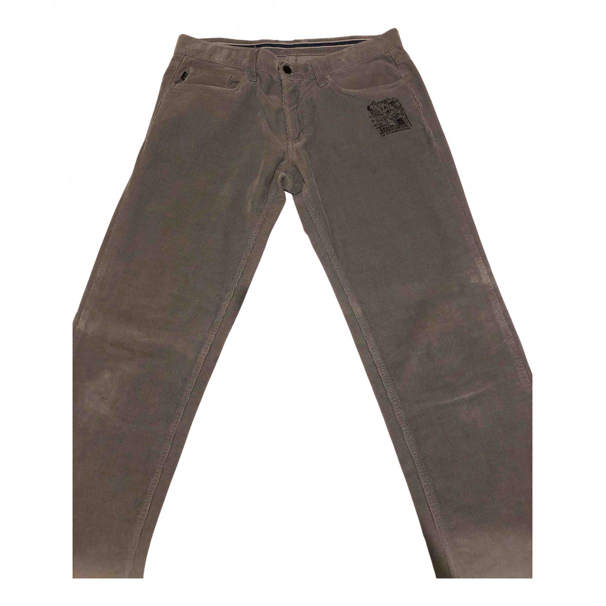 Iceberg N Grey Cotton Trousers for Men 34 UK - US