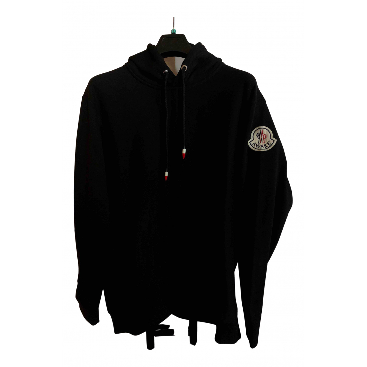 Moncler Genius Moncler n°2 1952 + Valextra Black Cotton Knitwear & Sweatshirts for Men L International