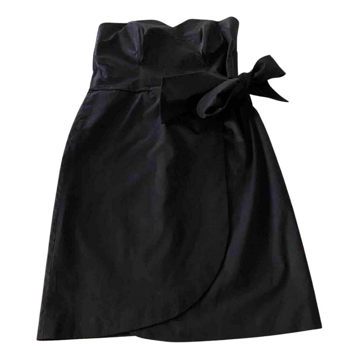La Perla - Robe   pour femme en coton - noir