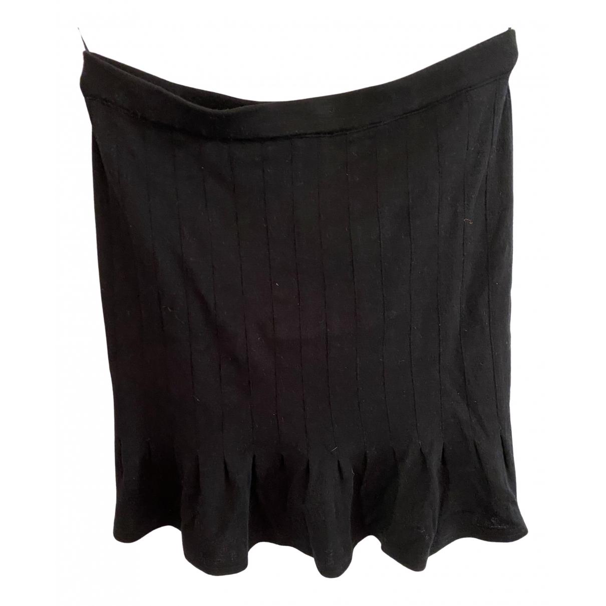 Steffen Schraut - Jupe   pour femme en laine - noir