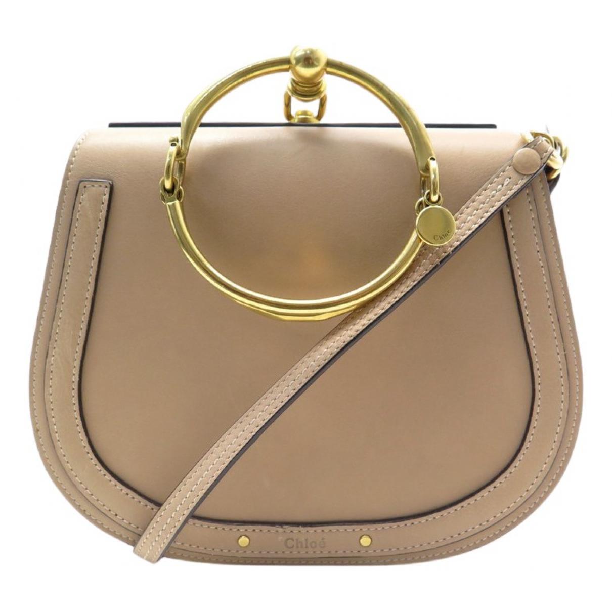 Chloé Bracelet Nile Beige Leather handbag for Women N
