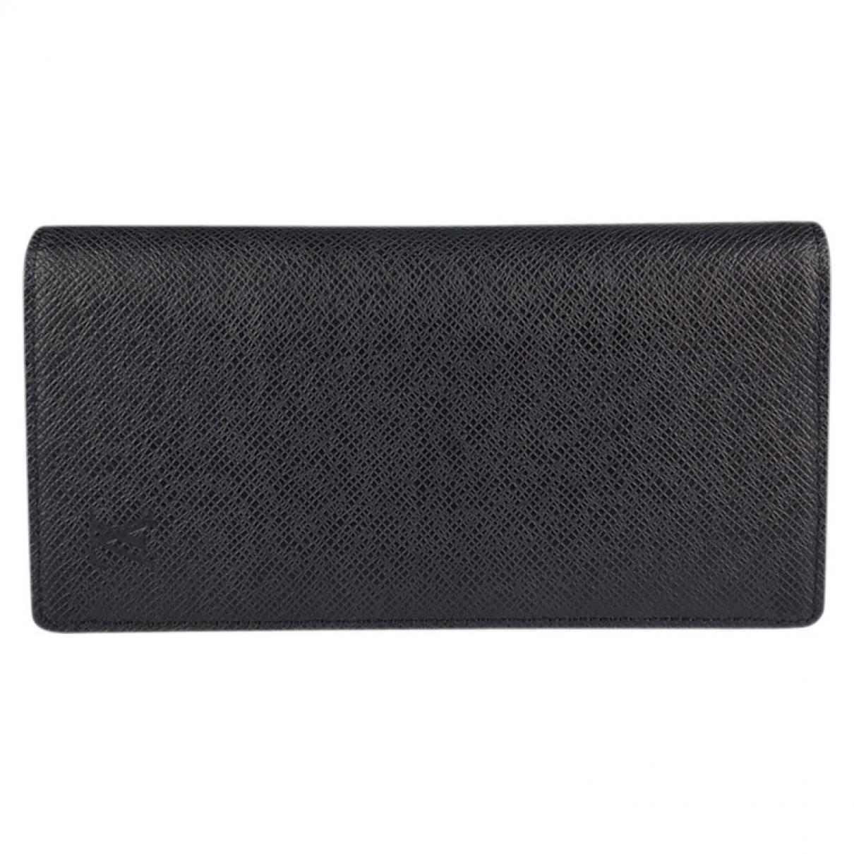 Louis Vuitton - Petite maroquinerie Brazza pour homme en cuir