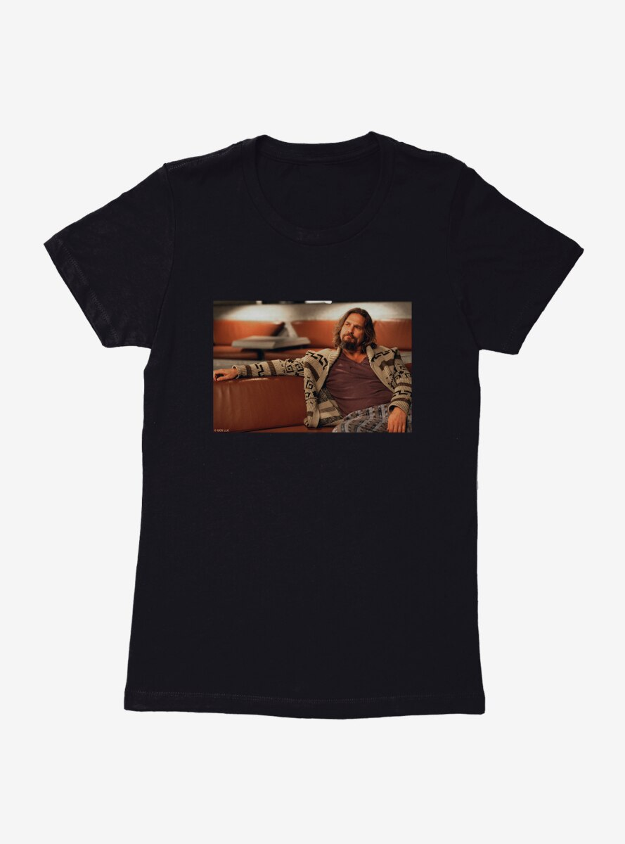 Big Lebowski Reclined Womens T-Shirt