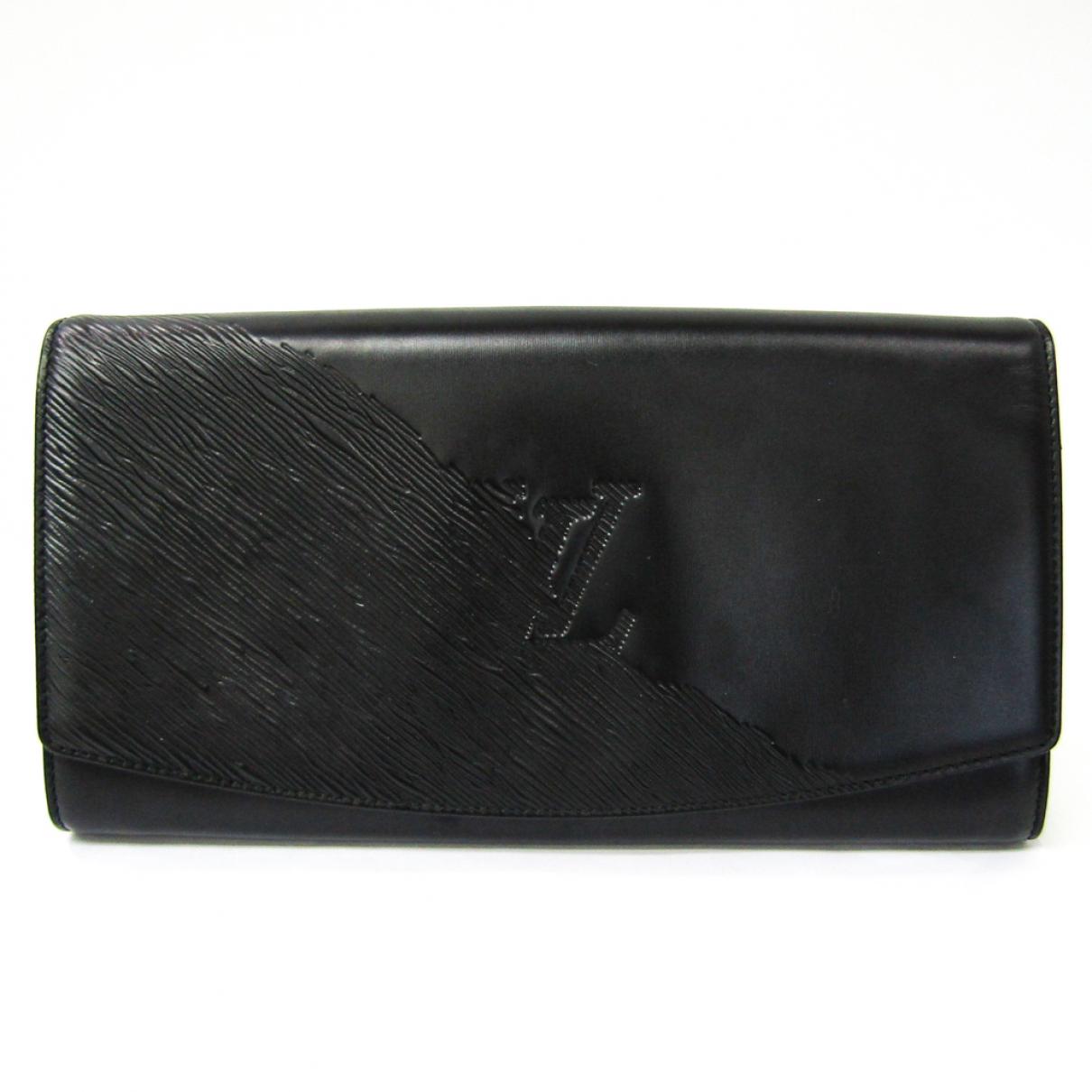 Louis Vuitton N Black Leather Clutch bag for Women N