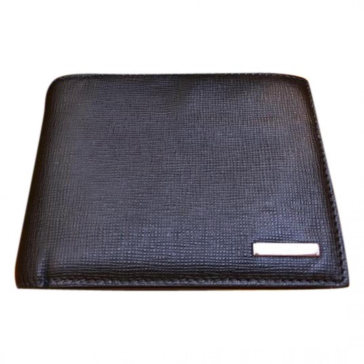 Fendi - Petite maroquinerie   pour homme en cuir - noir
