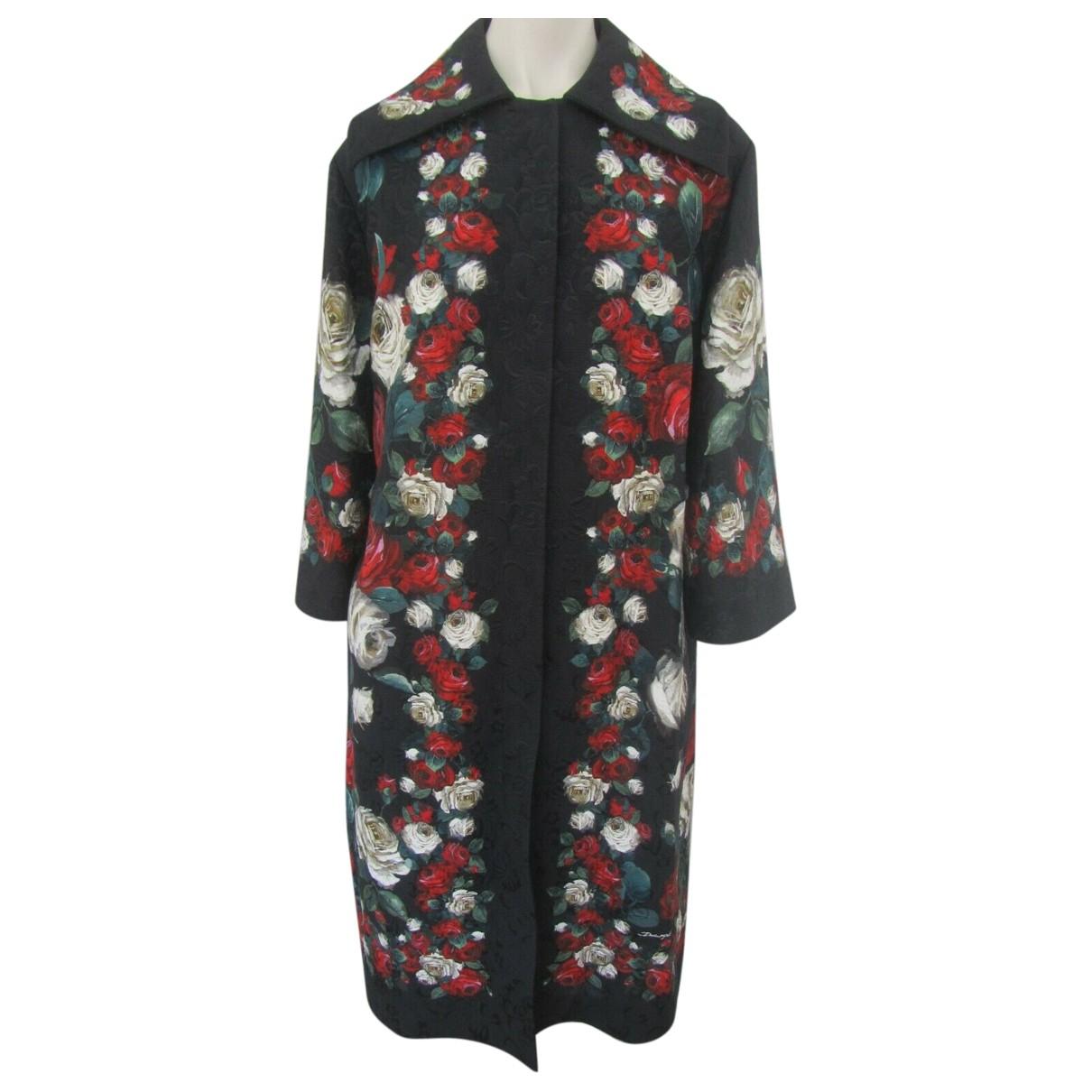 Dolce & Gabbana \N Multicolour Cotton coat for Women 40 IT
