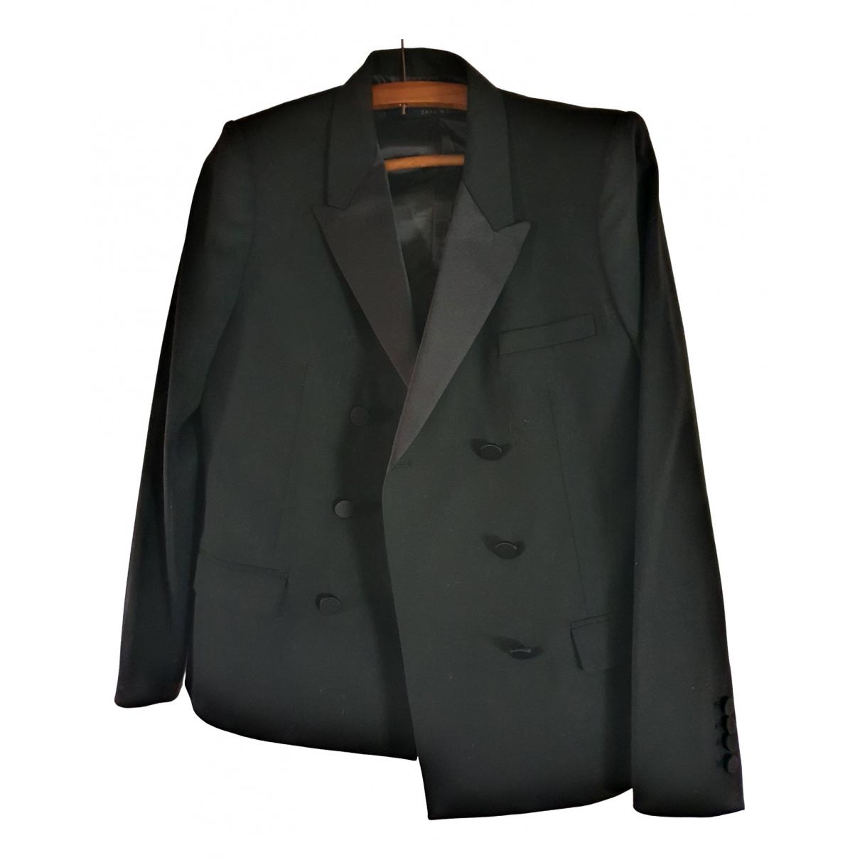Zara \N Black Cotton jacket for Women L International