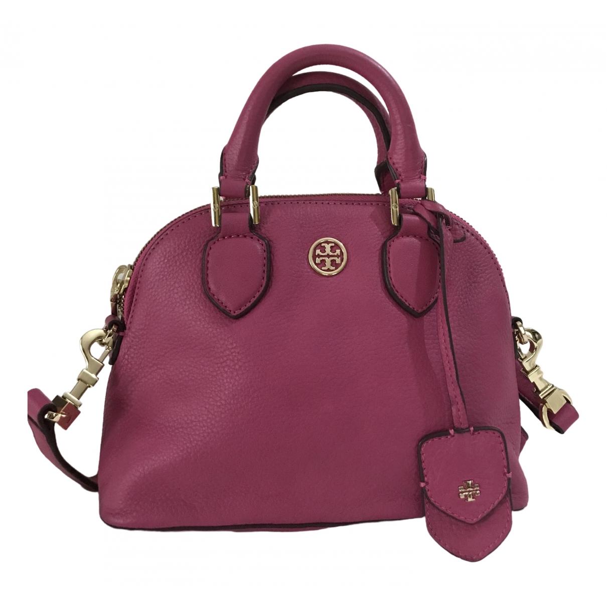 Tory Burch \N Handtasche in  Rosa Leder
