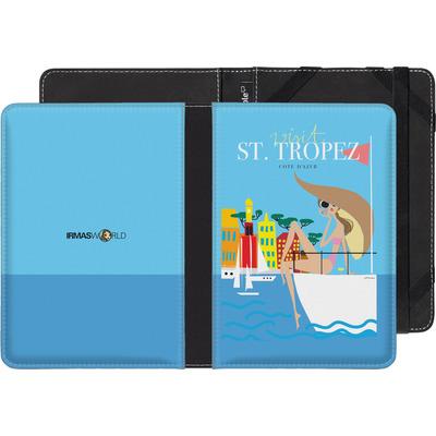 tolino shine eBook Reader Huelle - ST TROPEZ TRAVEL POSTER von IRMA