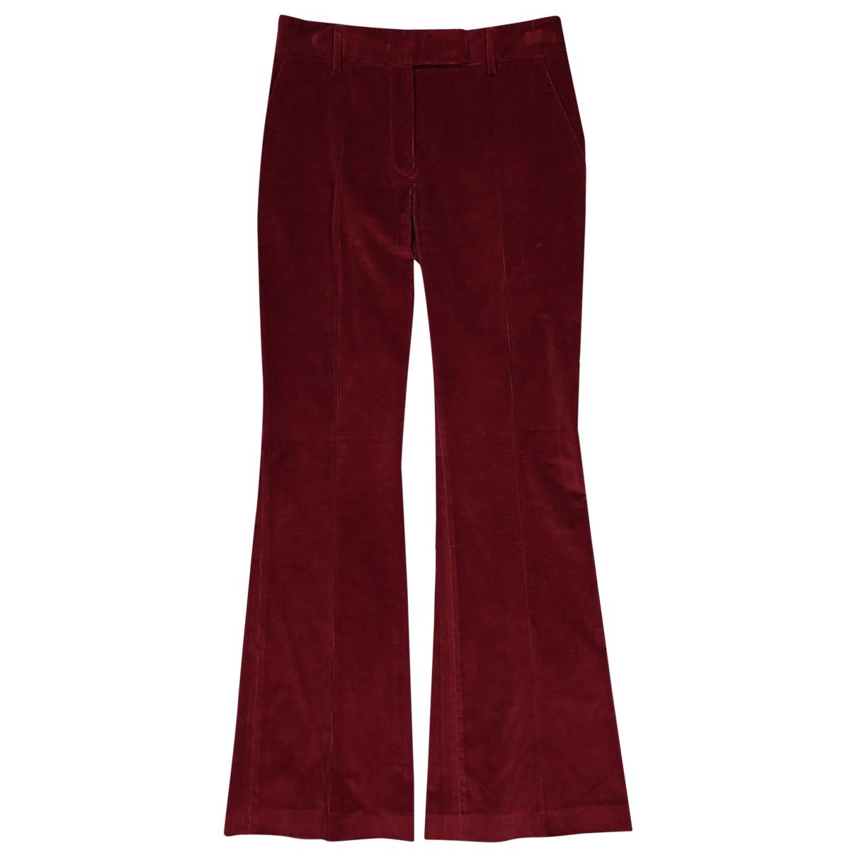 Pantalon largo Prada