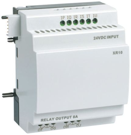 Crouzet Millenium 3 Expansion Module, 24 V dc Relay, 6 x Input, 4 x Output Without Display