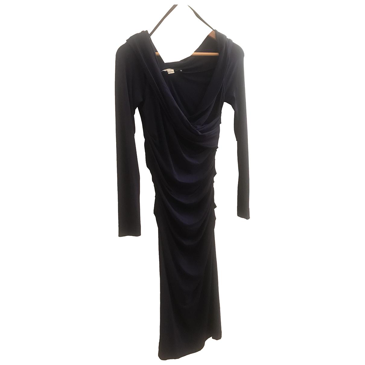 Diane Von Furstenberg \N Kleid in  Lila Baumwolle - Elasthan