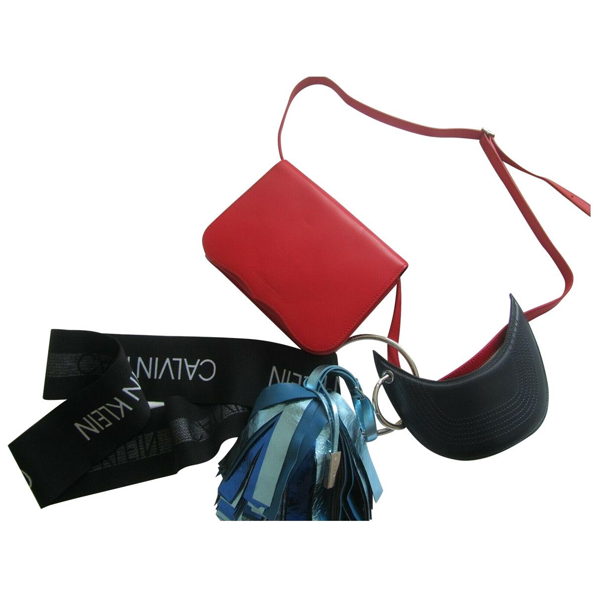 Calvin Klein 205w39nyc \N Multicolour Leather handbag for Women \N