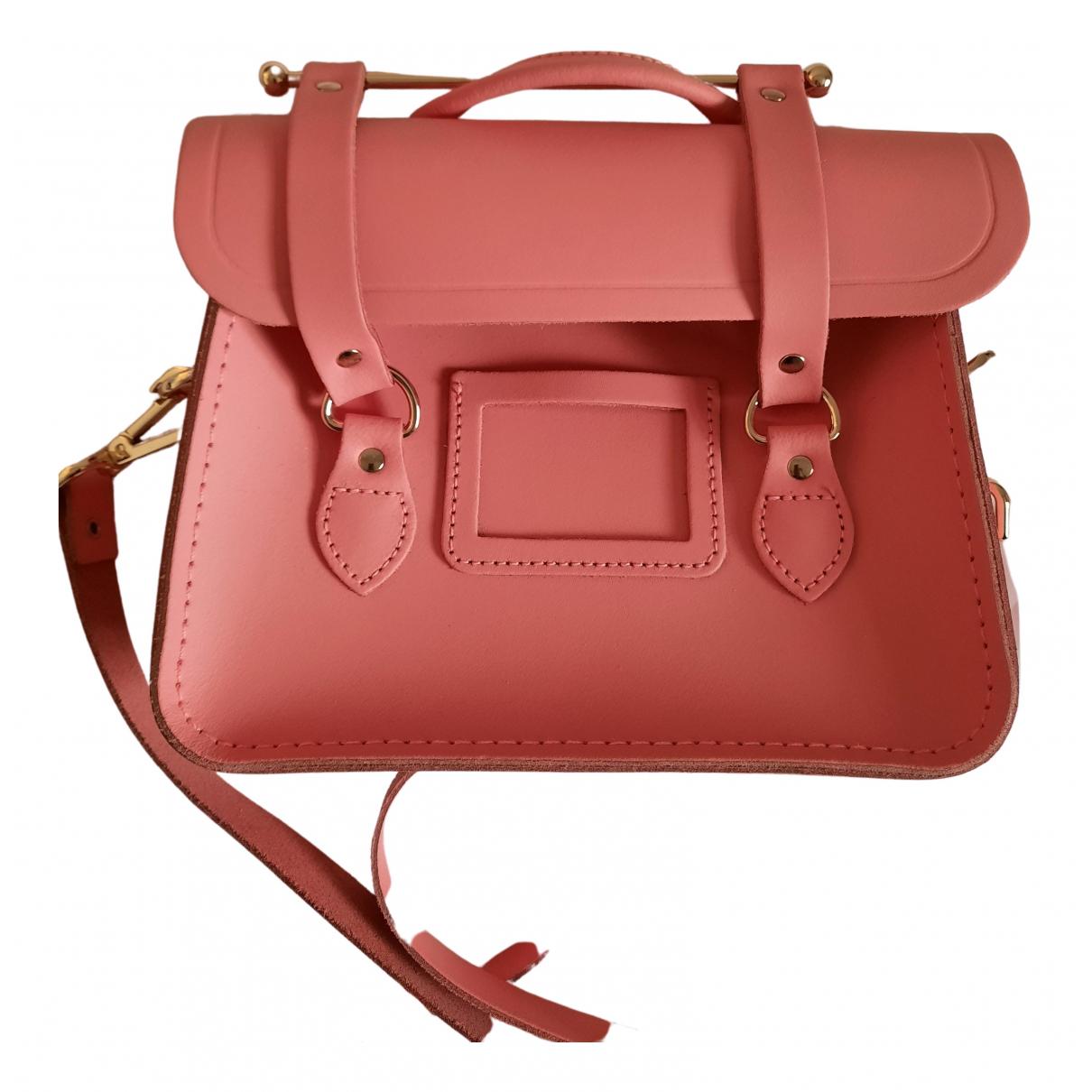 Cambridge Satchel Company - Sac a main   pour femme en cuir - rose