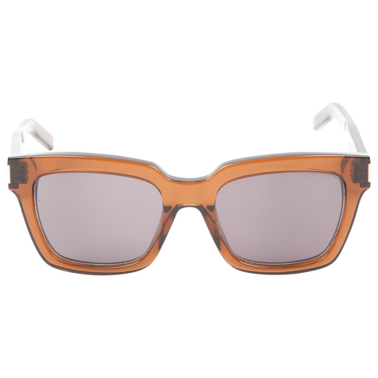 Saint Laurent \N Brown Sunglasses for Women \N