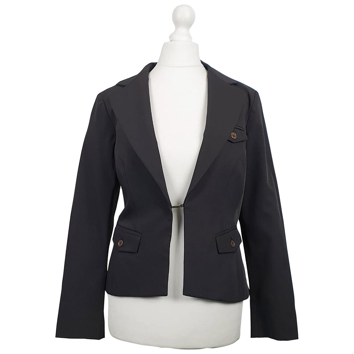 Elisabetta Franchi \N Brown jacket for Women 46 IT