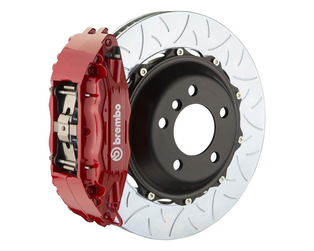 Brembo GT 355x32 2-Piece 4 Piston Red Slotted Type-3 Front Big Brake Kit