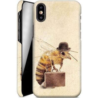 Apple iPhone X Smartphone Huelle - Worker Bee von Eric Fan