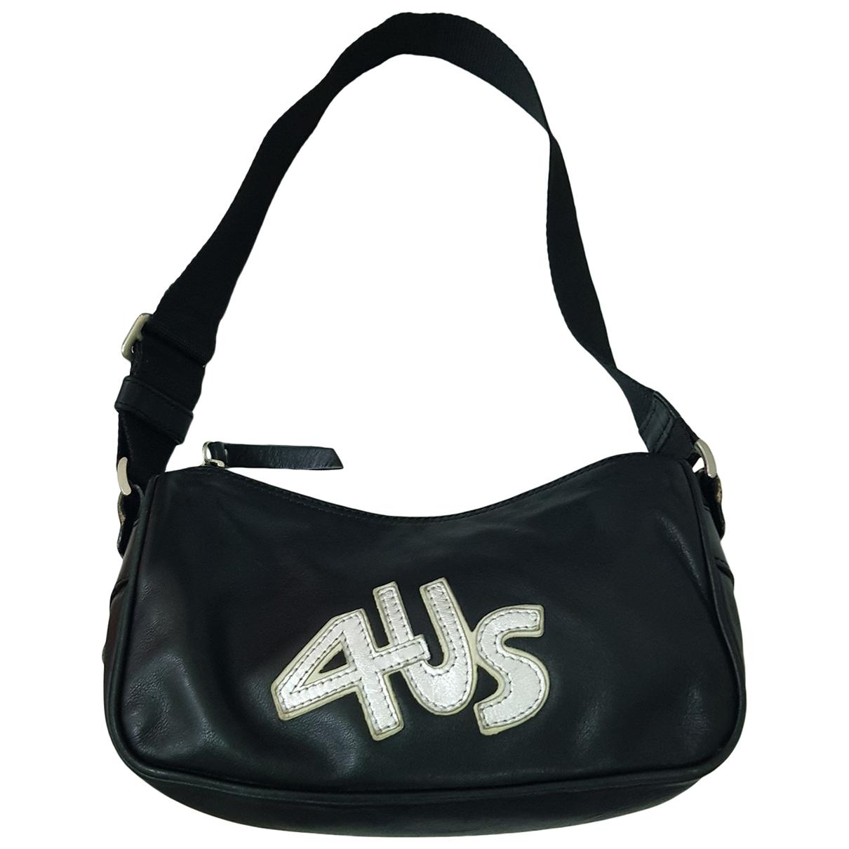 Cesare Paciotti \N Black Leather handbag for Women \N