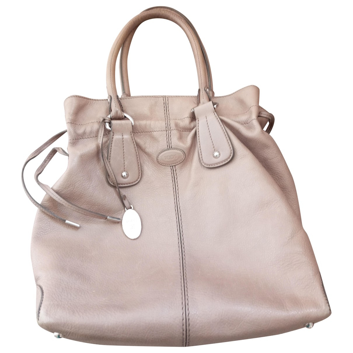 Tods \N Beige Leather handbag for Women \N