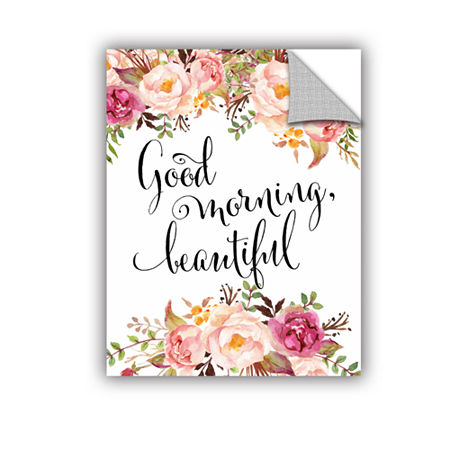 Brushstone Good Morning Beautiful Removable Wall Decal, One Size , Multiple Colors
