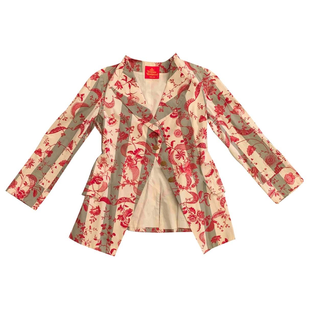 Vivienne Westwood Red Label \N Multicolour Cotton jacket for Women 42 IT