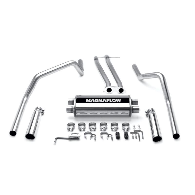 MagnaFlow 15750 Exhaust Products MF Series Stainless Cat-Back System Chevrolet C/K 1500 1996-1998 5.7L V8