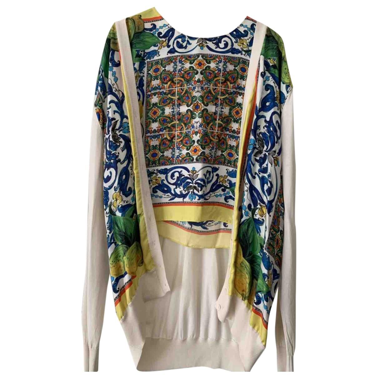 Dolce & Gabbana \N Multicolour Silk Knitwear for Women 46 IT