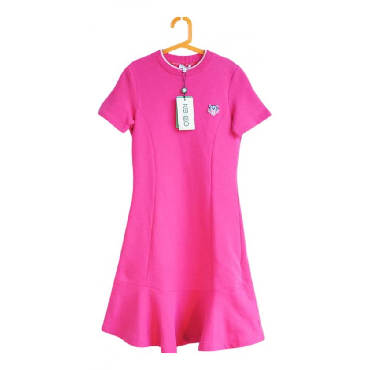 Kenzo N Pink Cotton dress for Women XS International