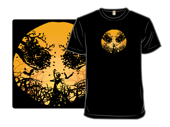 Pumpkin Rising T Shirt