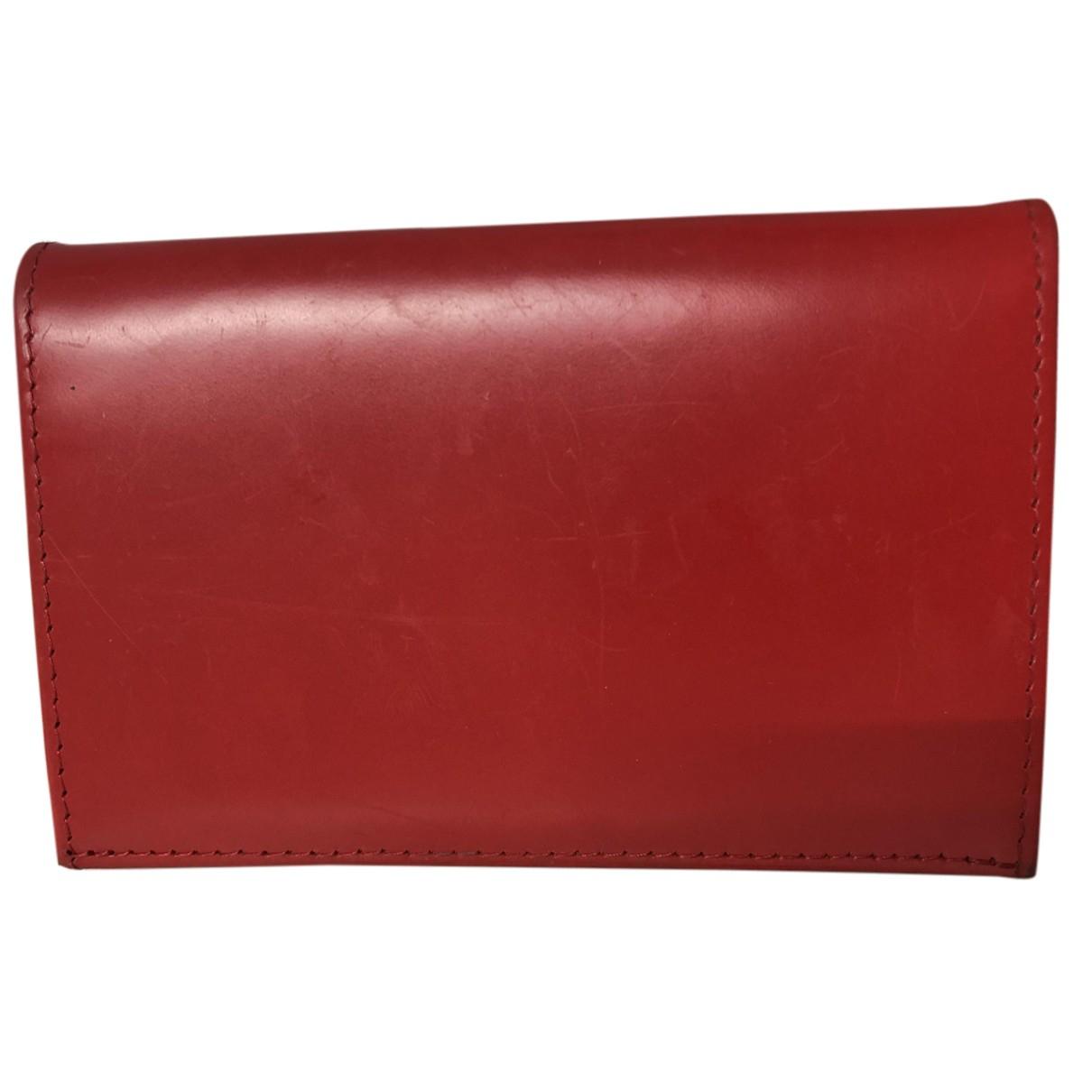 Ettinger N Red Leather wallet for Women N