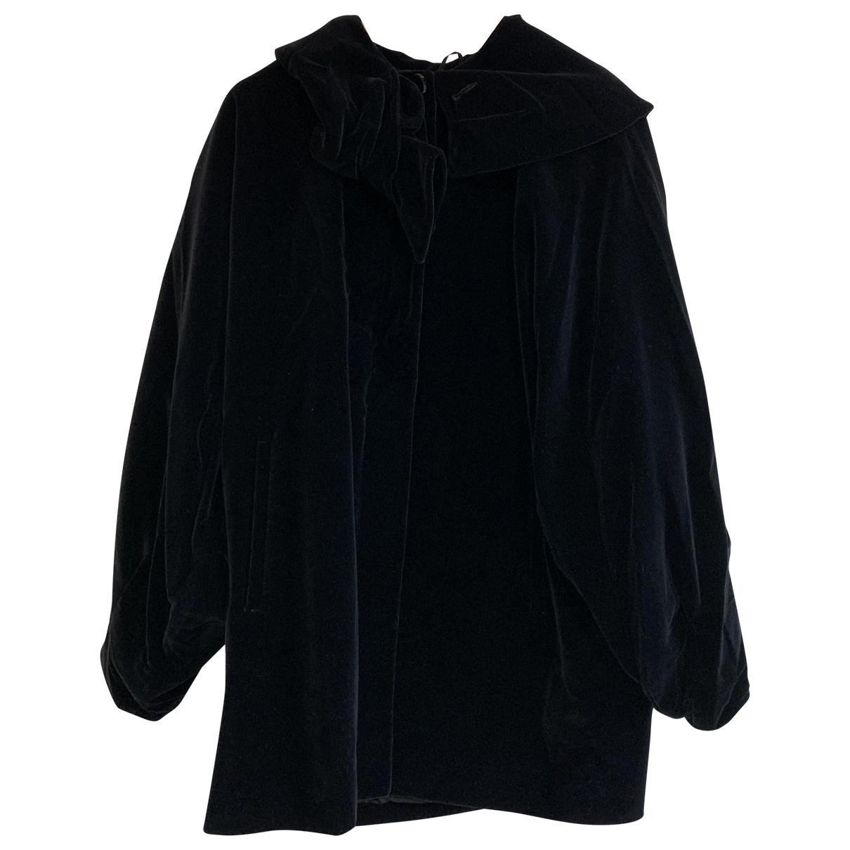 Non Signé / Unsigned \N Velvet coat for Women 40 IT