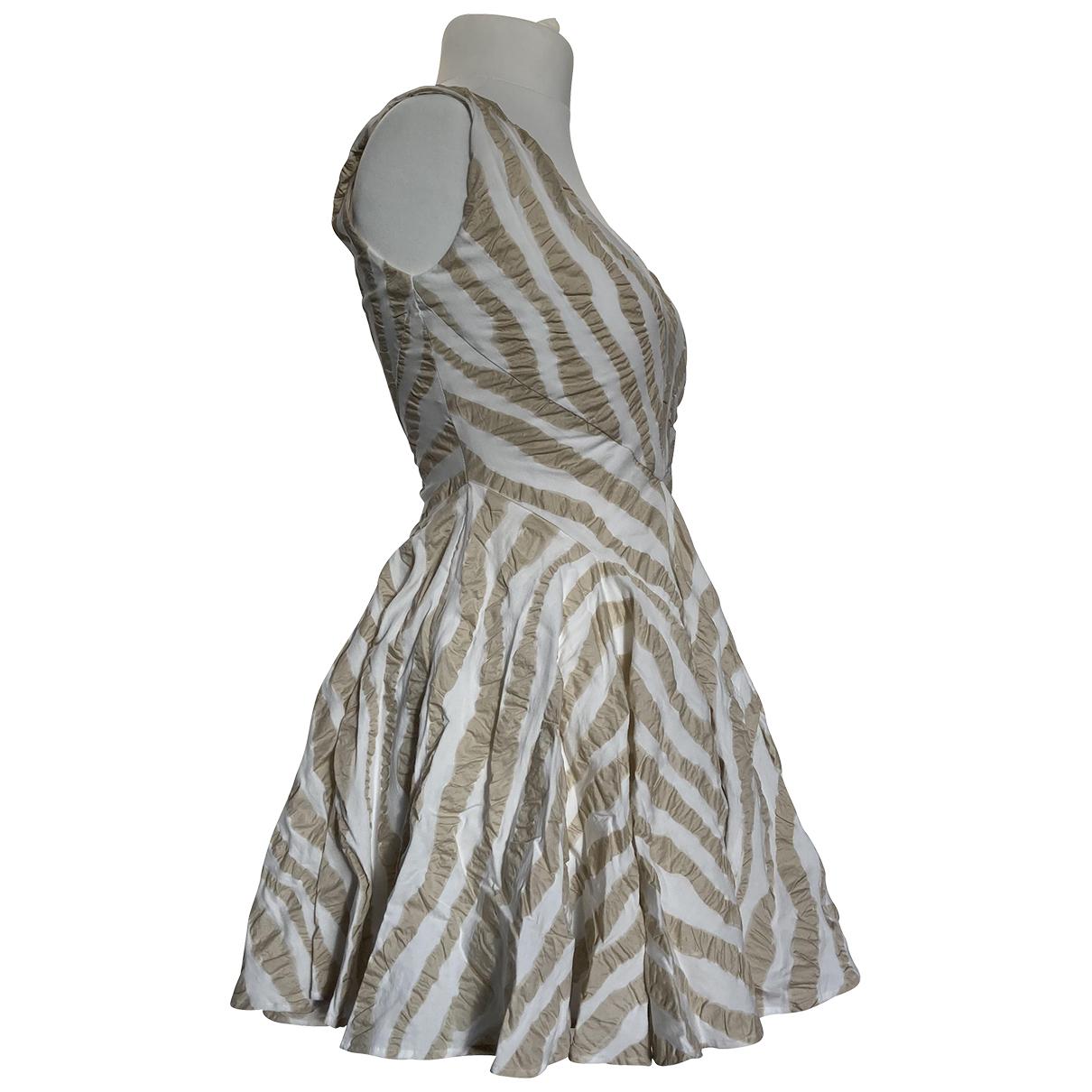 Plein Sud \N Kleid in  Beige Baumwolle