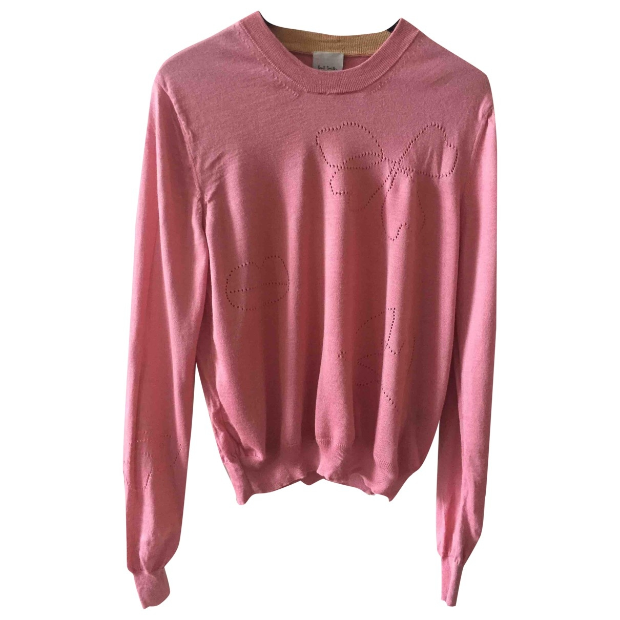 Paul Smith \N Pullover in  Rosa Wolle