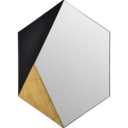 Cad Collection MT2301 30 x 40 Hexagon Shaped Mirror in Mirror