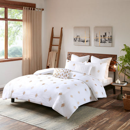 INK+IVY Stella Dot Cotton 3-pc. Comforter Mini Set, One Size , Brown