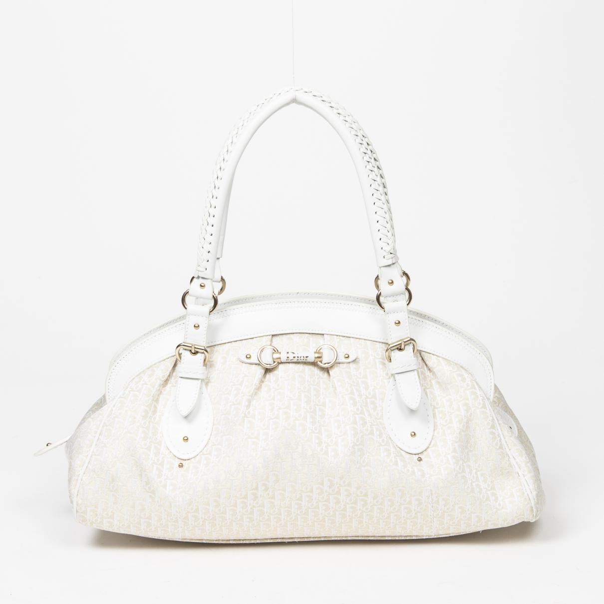 Dior \N Beige Leather handbag for Women \N