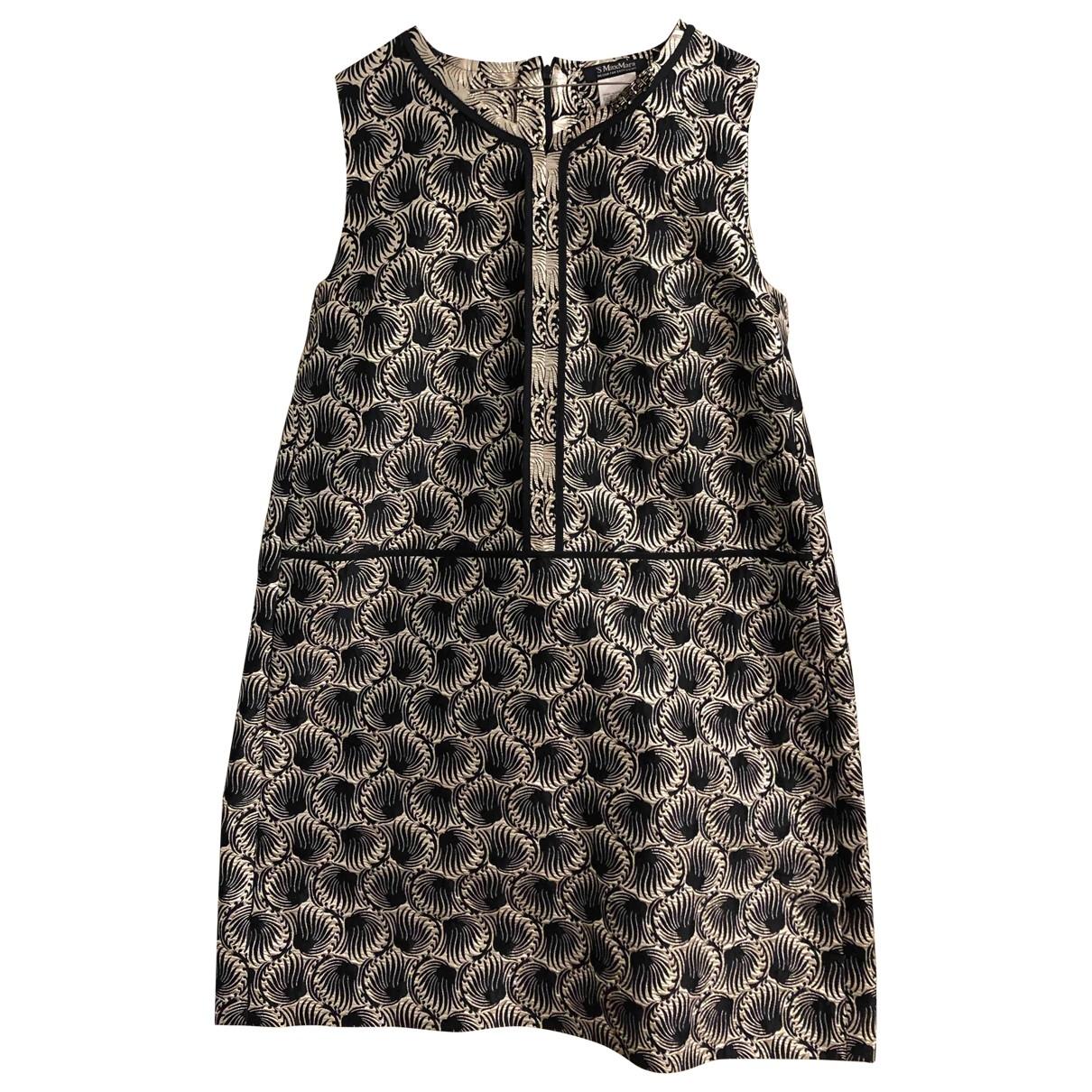 Max Mara 's \N Silver dress for Women 48 IT